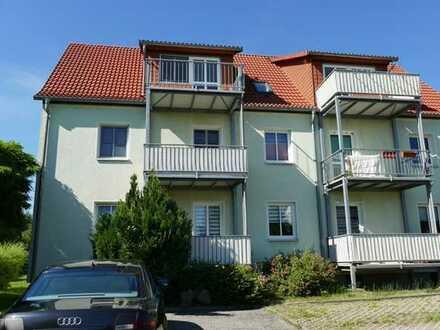 schöne 2Raum-Wohnung mit Balkon in Neukirchen