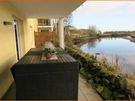 Zentral und idyllisch gelegene Wohnung in Bremerhaven zur Miete!