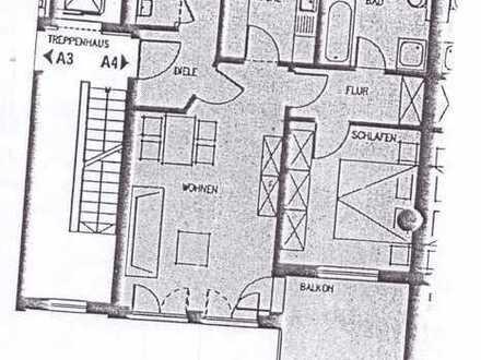 Exklusive, gepflegte 2-Zimmer-Wohnung mit Balkon und EBK in Augsburg