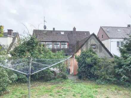 Grundstück von ca. 877 m² mit Altbestand - Sanierung oder Neubau möglich