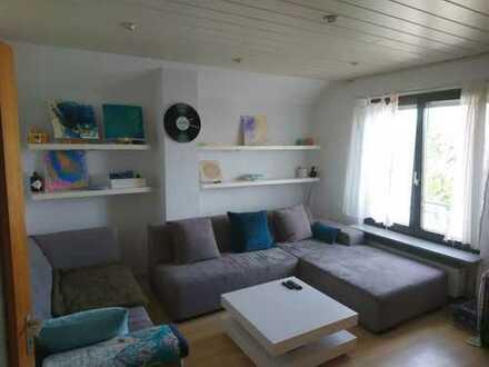 Heddesheim ideal für 1 Person DG-Wohnung 2 ZKB