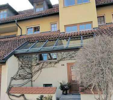 gemütliches Appartment mit Terrasse und Garten in Wangen