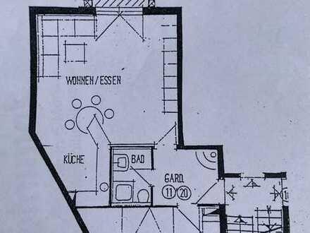 Helle und freundliche 2,5-Raum-Wohnung mit Balkon und Einbauküche in Neckartenzlingen
