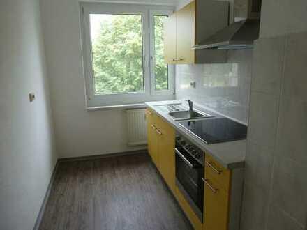 Günstige, vollständig renovierte 2-Zimmer-Wohnung mit EBK in Neukieritzsch