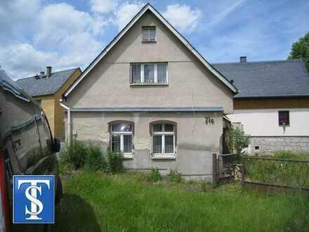 102/14 - Kleines Einfamilienhaus mit großem Grundstück zum sanieren in Bad Brambach (OT Hohendorf)