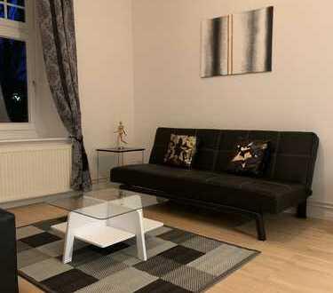 Moderne möblierte EG Wohnung mit Gartenaustritt in Eppendorf in attraktiver Lage direkt am UKE