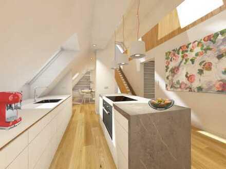 Dachgeschoss Maisonette Wohnung, viel Raum und höchster Wohnkomfort im Zentrum von Fürstenfeldbruck