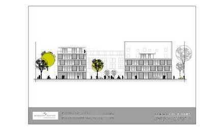 Flexibel teilbare Büroräume in modernem Neubau zu vermieten!