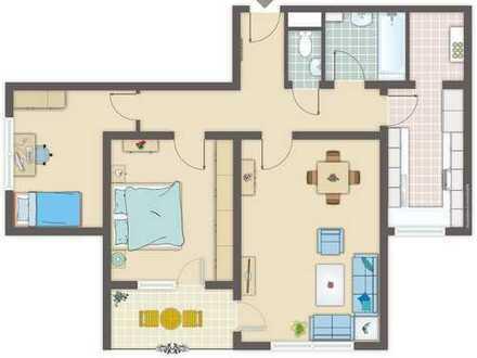 Schwaikheim, großzügige, barrierefreie 3 - Zimmerwohnung mit Potential