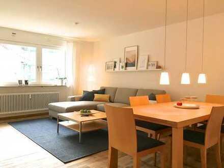 Geschmackvolle, gehoben möblierte 2-Zi-Wohnung mit Loggia und WLAN am Wöhrder See, inkl. Garage