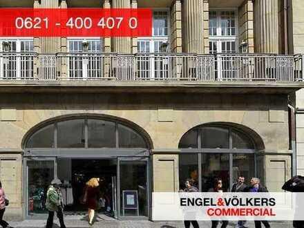 Kernsanierte Ladenfläche auf der Heidelberger Hauptstraße