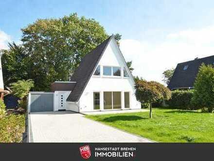 Grasberg / Hochwertig saniertes Einfamilienhaus mit Garten, Süd-West-Terrasse und Garage
