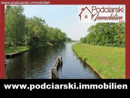 EFH mit Einliegerwohnung auf 10.000 m² direkt am idyllischen Ems-Jade-Kanal!