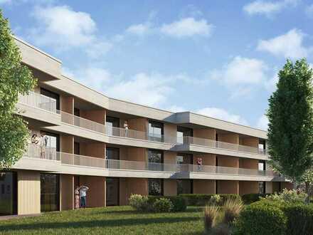 3-Zimmer-Wohnung mit Gäste-WC, Abstellraum und Terrasse
