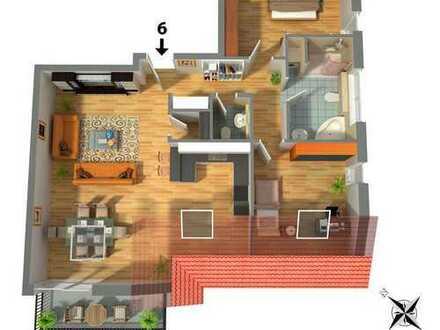Exklusive 3 Zimmer Dachgeschoß-Wohnung in vorteilhafter Lage