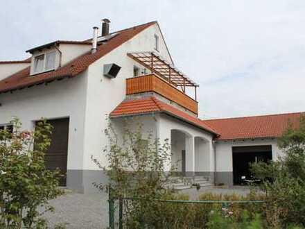 Einzigartiges Wohnhaus mit eigener Werkstatt