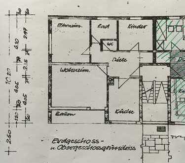 Schöne 3-Zimmer-Hochparterre-Wohnung mit Süd-Balkon in Neuching