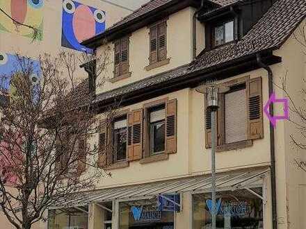 3,5 Zimmer Wohnung im OG mit großem Balkon in zentral in Mühlacker!