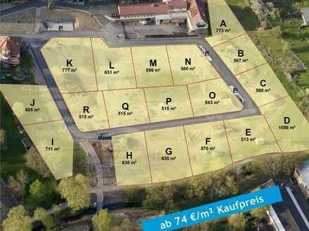 Baugebiet Beckerwiese ... ruhig wohnen, mitten in Zella-Mehlis