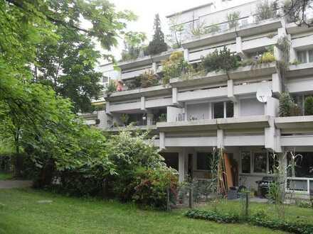 3 Zimmer Gartenwohnung nähe Olympia-Einkaufzentrum zu verkaufen