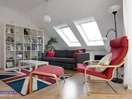 Rarität! Wunderschöne 2-Zimmer-Wohnung auf 59 qm, inkl. Stellplatz & Loggia, in zentraler Lage.