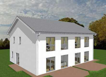 WOHLFÜHLEN: Doppelhaushälfte mit Keller, inkl. Grundstück