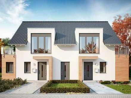 Doppelhaus mit großen Grundstück..!