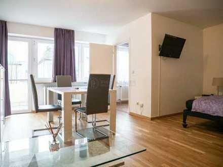 Möbliertes Appartement mit Balkon in Milbertshofen zu vermieten