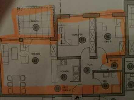 Erstbezug 3-Zimmer-Wohnung mit Balkon Wohnpark Kreuzerweg