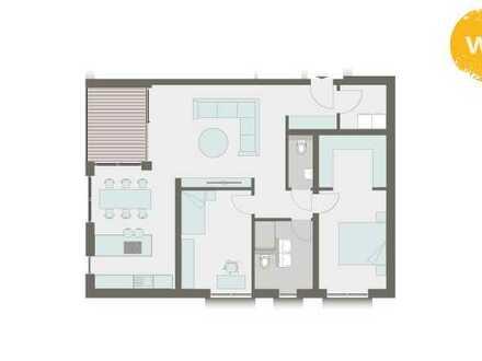 Ein Platz zum Entfalten, hochwertige 3,5 Z Wohnung in Nastätten mit Einbauküche