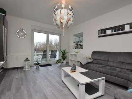 Helle, sehr gepflegte 2-Zimmer-Eigentumswohnung mit Balkon und Keller in Salzgitter-Lebenstedt.