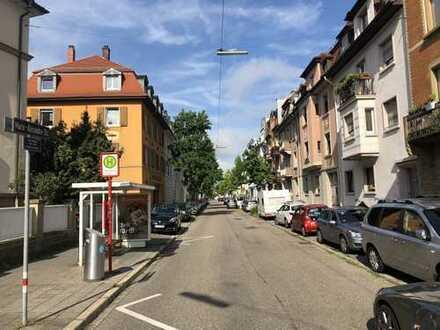Zentrale und ruhige Maisonettewohnung in Beiertheim