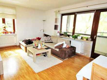 Große, helle 3-Zimmer-Wohnung mit 2 Balkonen im 2. OG in perfekter Lage