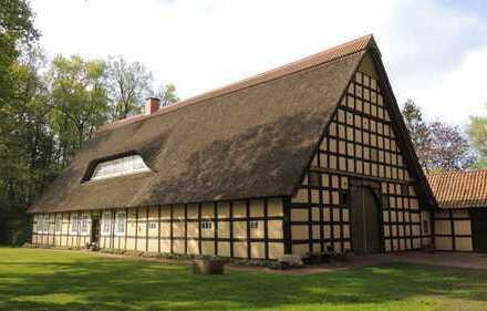 Wohntraum in einem Artländer Fachwerk-Ensemble in idyllischer Alleinlage von Badbergen-Grönloh