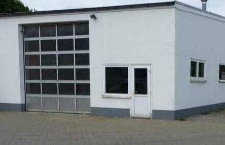 Gewerbeanwesen Halle/Büro mit möglicher Wohnbebauung zu verkaufen !!