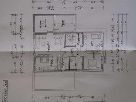 Moderne 3-Zimmerwohnung im EG/OG mit Terrasse/Balkon, 85 qm, Garage und Stellplatz