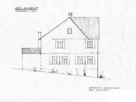 Grundstück (ca. 941 qm) mit Abbruchhaus in Unterensingen
