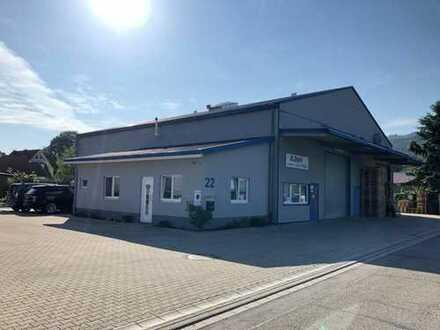 Waldkirch ++ vielseitig nutzbare Halle mit Büro und Sozialtrakt