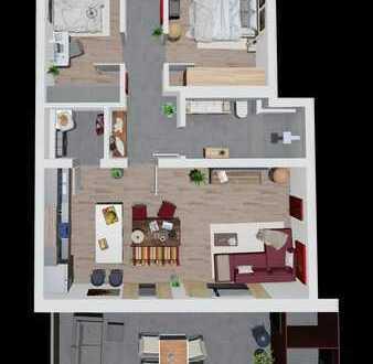 3 Zimmer mit moderner Planung