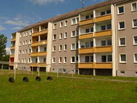 Familienfreundliche 3-Raum-Wohnung in ländlicher Wohnlage