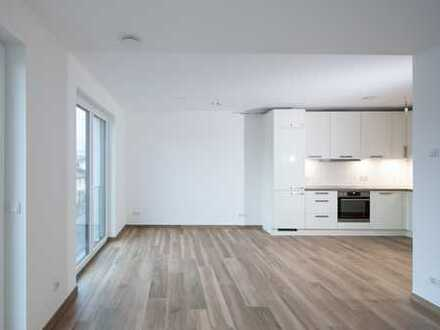 Erstbezug-2 Zimmer mit kleinem Garten *Einbauküche *hochwertige Ausstattung *Aufzug *Garage