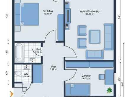 3-Zimmer Eigentumswohnung in 64625 Bensheim zu verkaufen