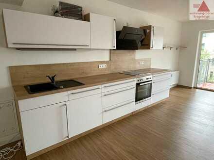 Moderne 4-Raum-Wohnung mit Balkon in Aue