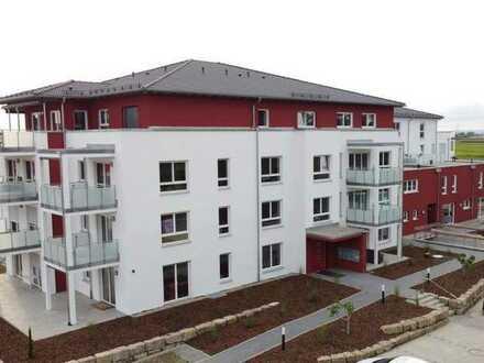 Für Bewohner ab 50! Freundliche 2,5-Zimmer-Neubau-Mietwohnung im Wohnpark 50+