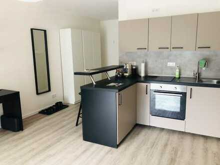 Neubau: Möbliertes 32m² Apartment in unmittelbarer Uni-Nähe (in mehreren Etagen)