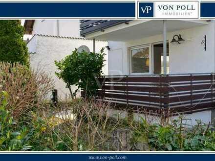 Helle Erdgeschosswohnung mit Terrasse und Gartenanteil in Gernsheim