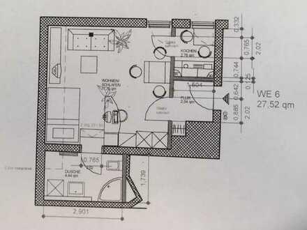 Exklusive, gepflegte 1-Zimmer-Wohnung mit Einbauküche in Mainz