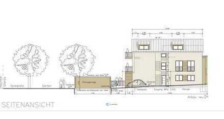 Provisionsfrei! Neubau! Barrierefreie Erdgeschosswohnung im 3-Familienhaus mit Terrasse und Garten!