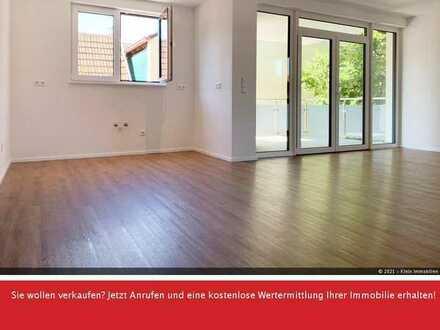 3-Zimmer-Neubauwohnung im Obergeschoss mit Süd-Ost-Balkon und Fahrstuhl!