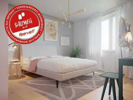 Wohnen am Salzweg: 2-Zimmer-Wohnung, 1. OG, 63qm (Reserviert)